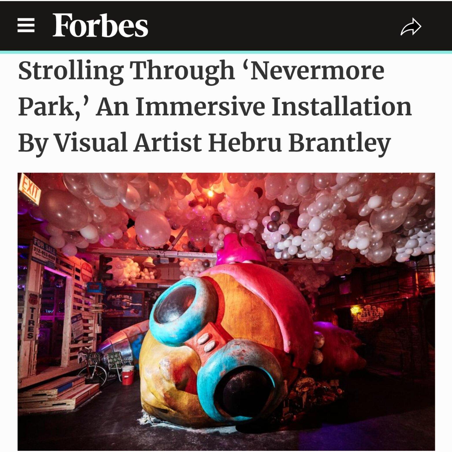 Strolling Through 'Nevermore Park,' An Immersive Installation By Visual Artist Hebru Brantley-adrienne-gibbs-forbes-chicago-publicist-ximena-n-larkin-c1-revolution
