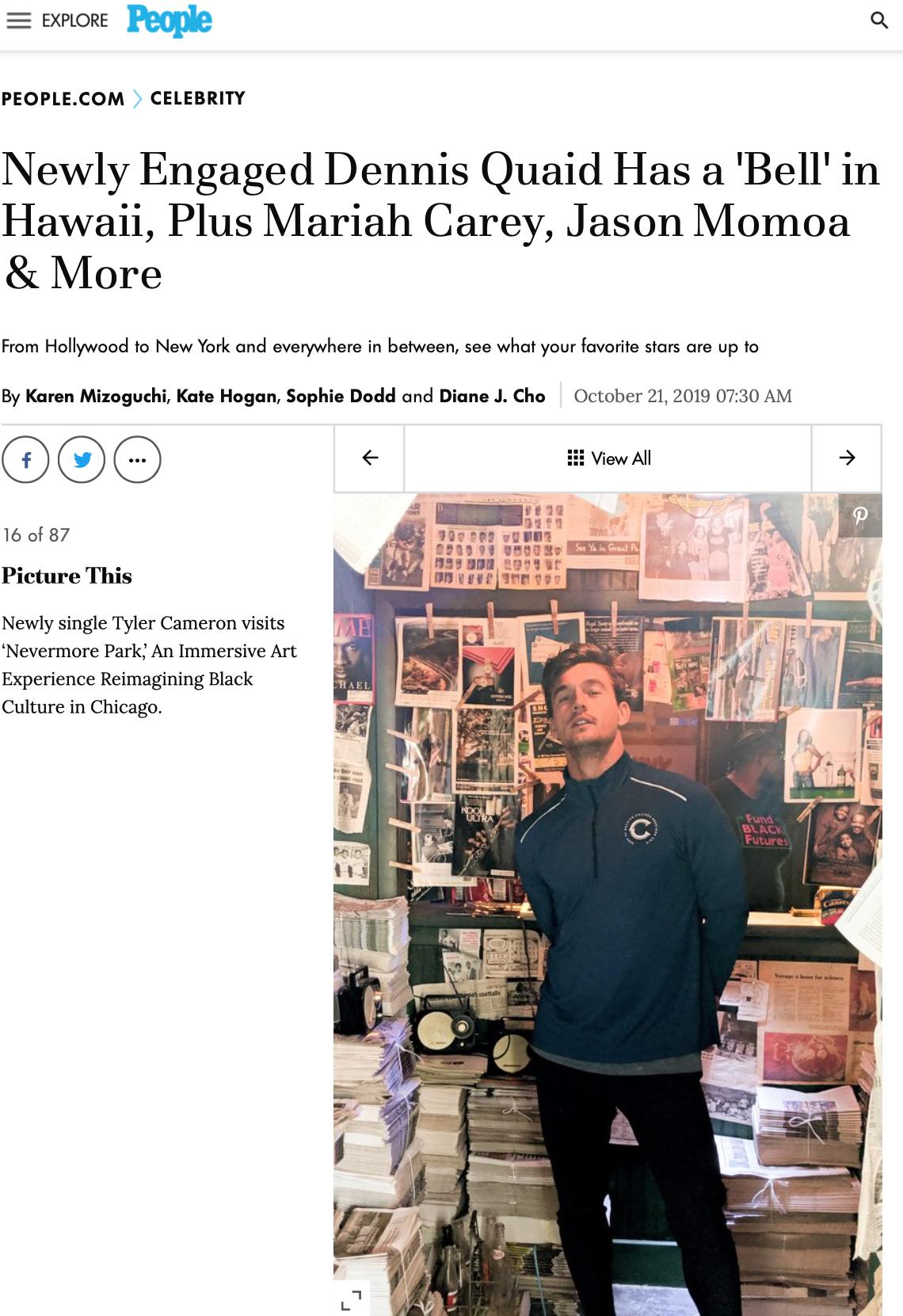Tyler-cameron-chicago-marathon-hebru-brantley-nevermore-park-art-installation-publicist-ximena-larkin-c1-revolution