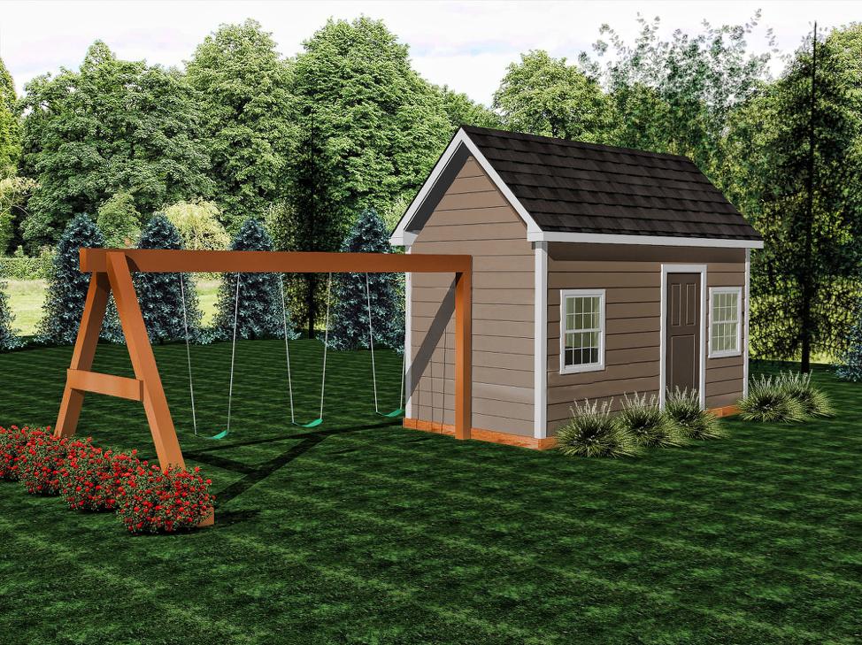 Bungalow  Buildable Plans -$600  Playhouse Build - $9500