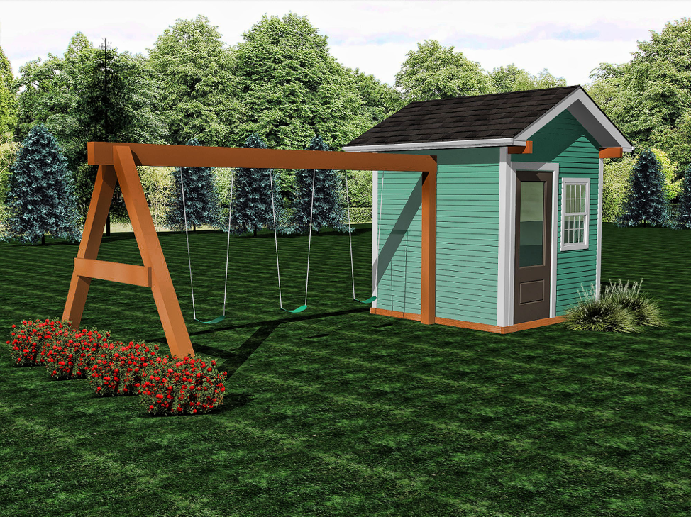 Ranch  Buildable Plans -$400  Playhouse Build - $7200