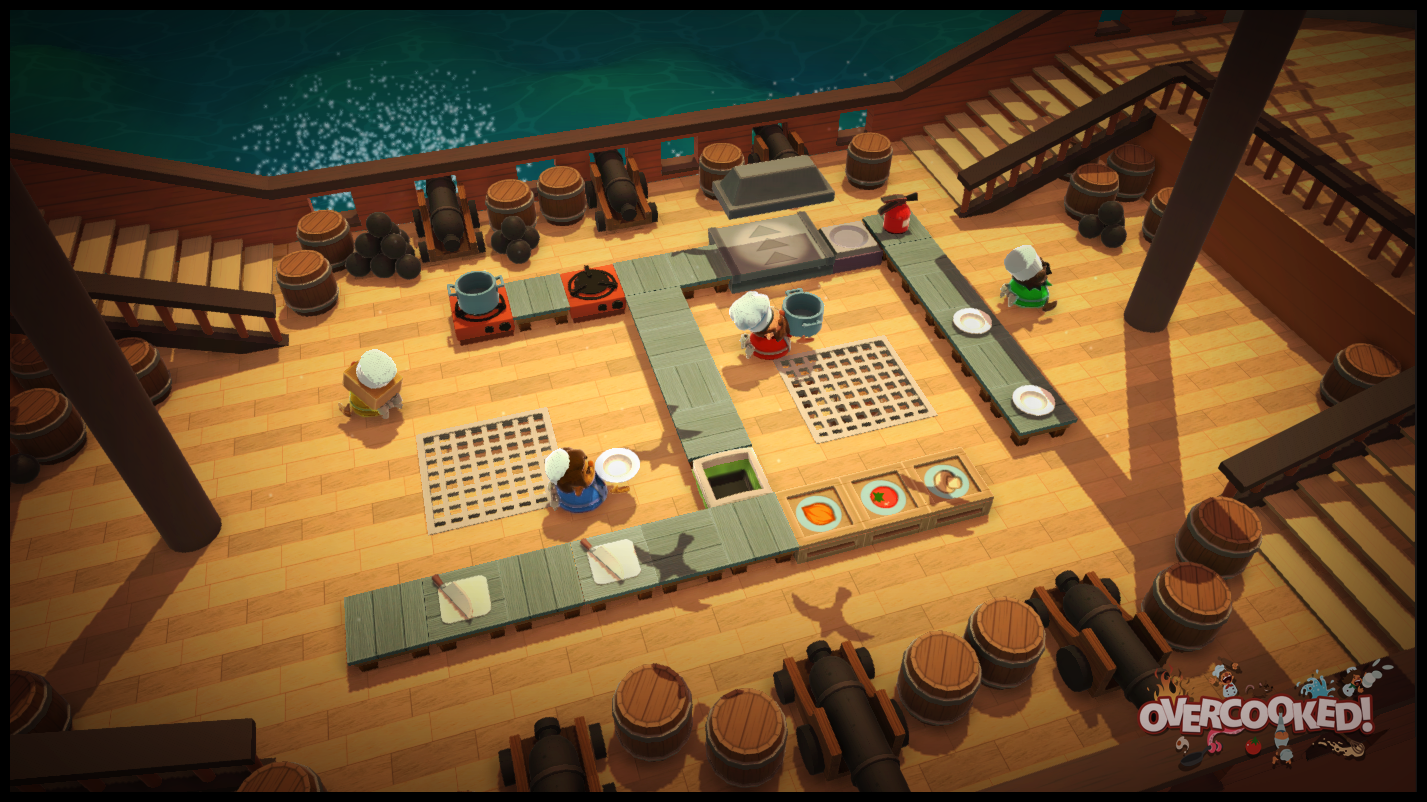 Sea sickness is the least of your worries here. Image courtesy Ghost Town Games.