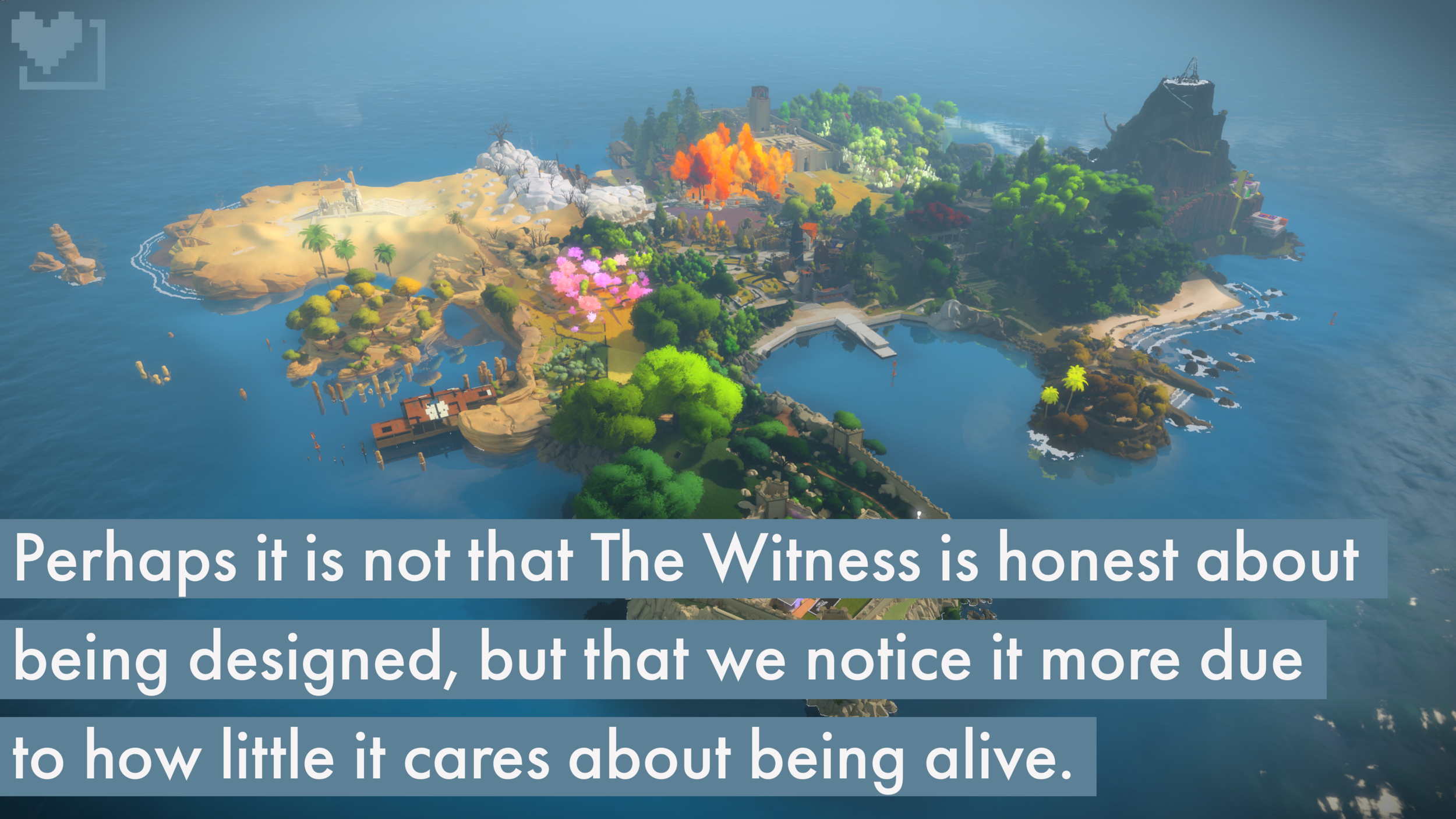 the witness, island