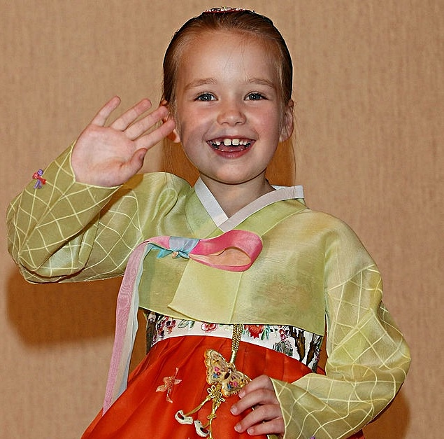 Wearing a South Korean traditional Hanbok - Wearing a South Korean traditional 'Hanbok' after a press conference at COEX Intercontinental Hotel on April 23, 2008 in Seoul, South Korea. Talbot is in South Korea for a promote new album.
