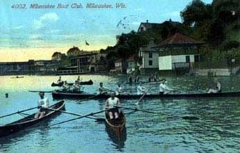 Milwaukee River, circa 1908