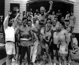 Birthday of August Grabe, club founder, circa 1930s
