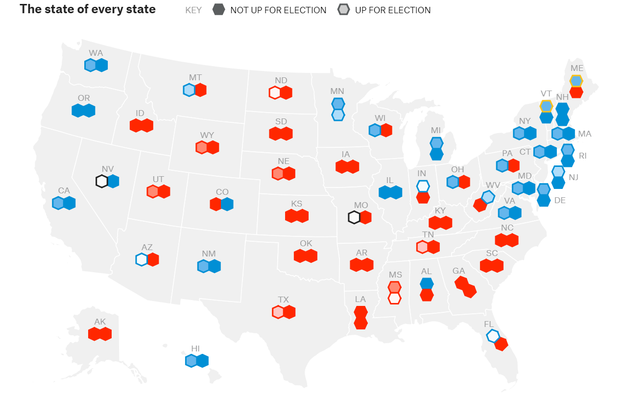 The Senate race, presented by    FiveThiryEight   .