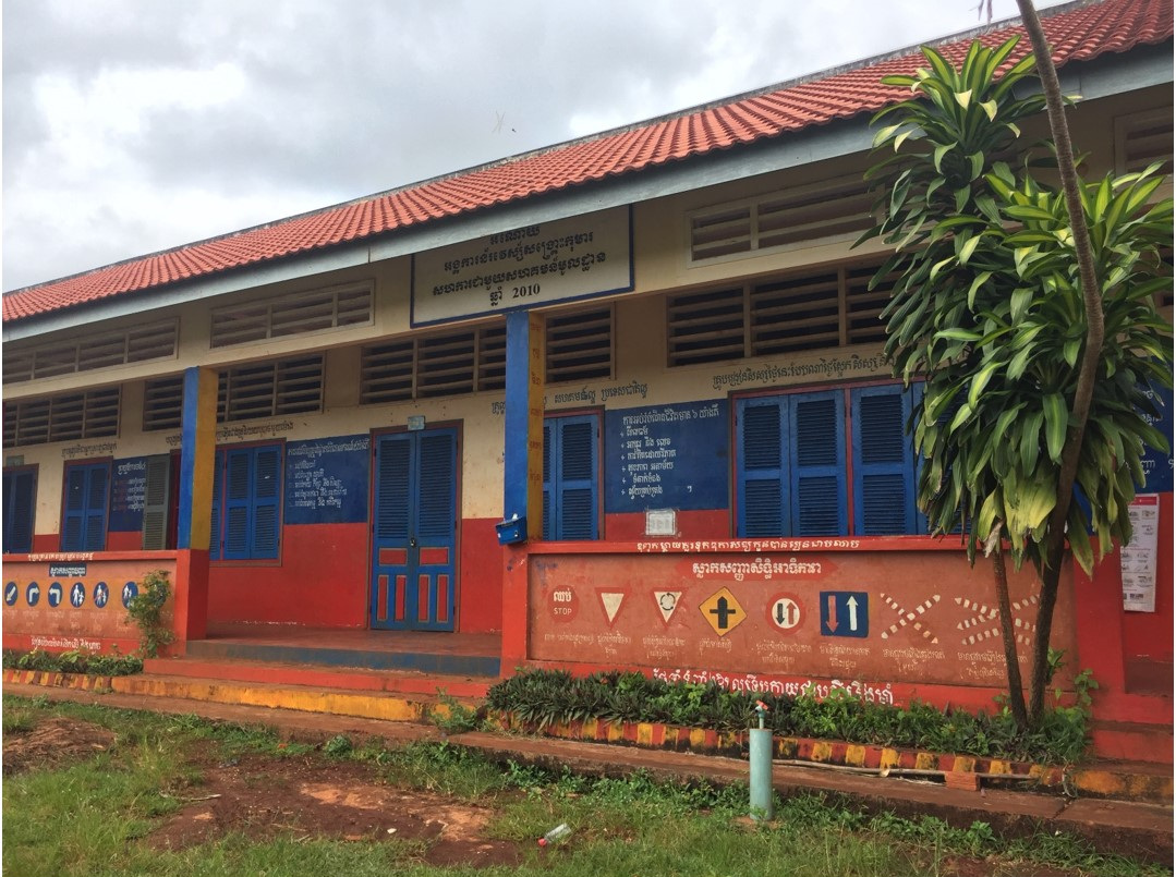School in Cambodia improved through local school leadership and management stakeholders