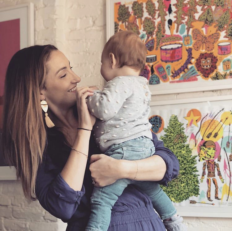 Mary Jerome and her daughter, Margot, 2018