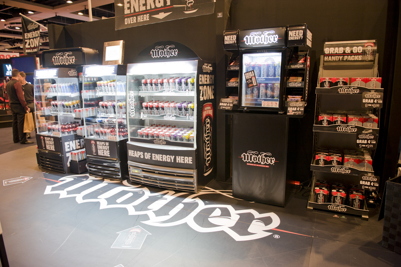 Mother Energy Drink   Expo Activation