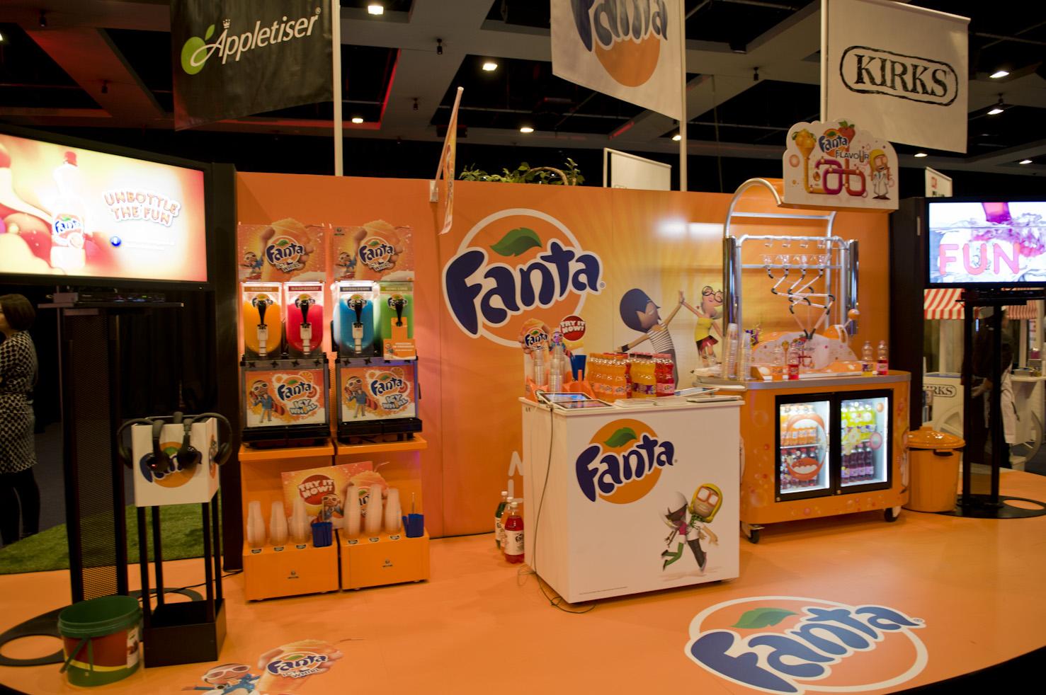 Fanta   Expo Activation
