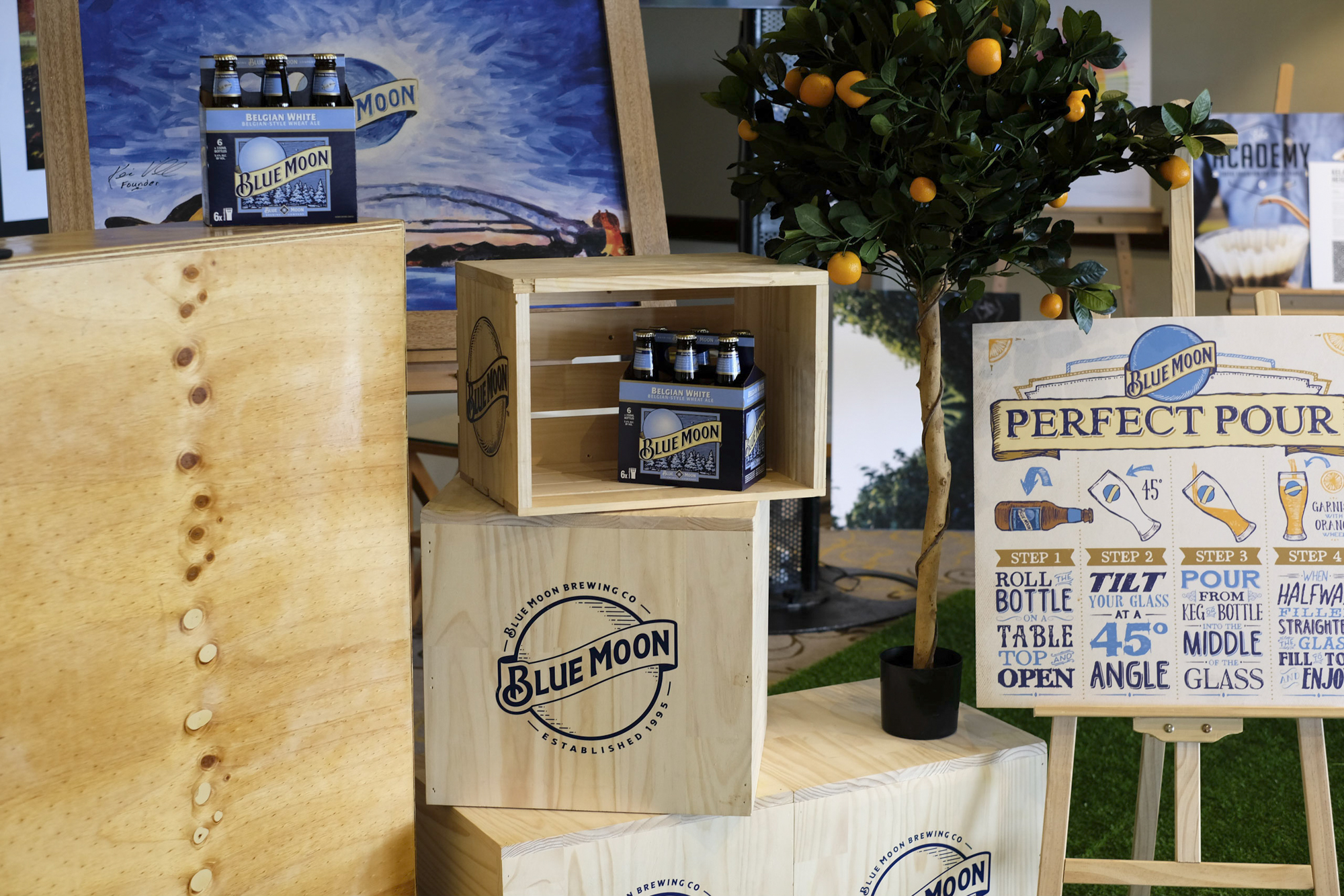Blue Moon  Expo Activation