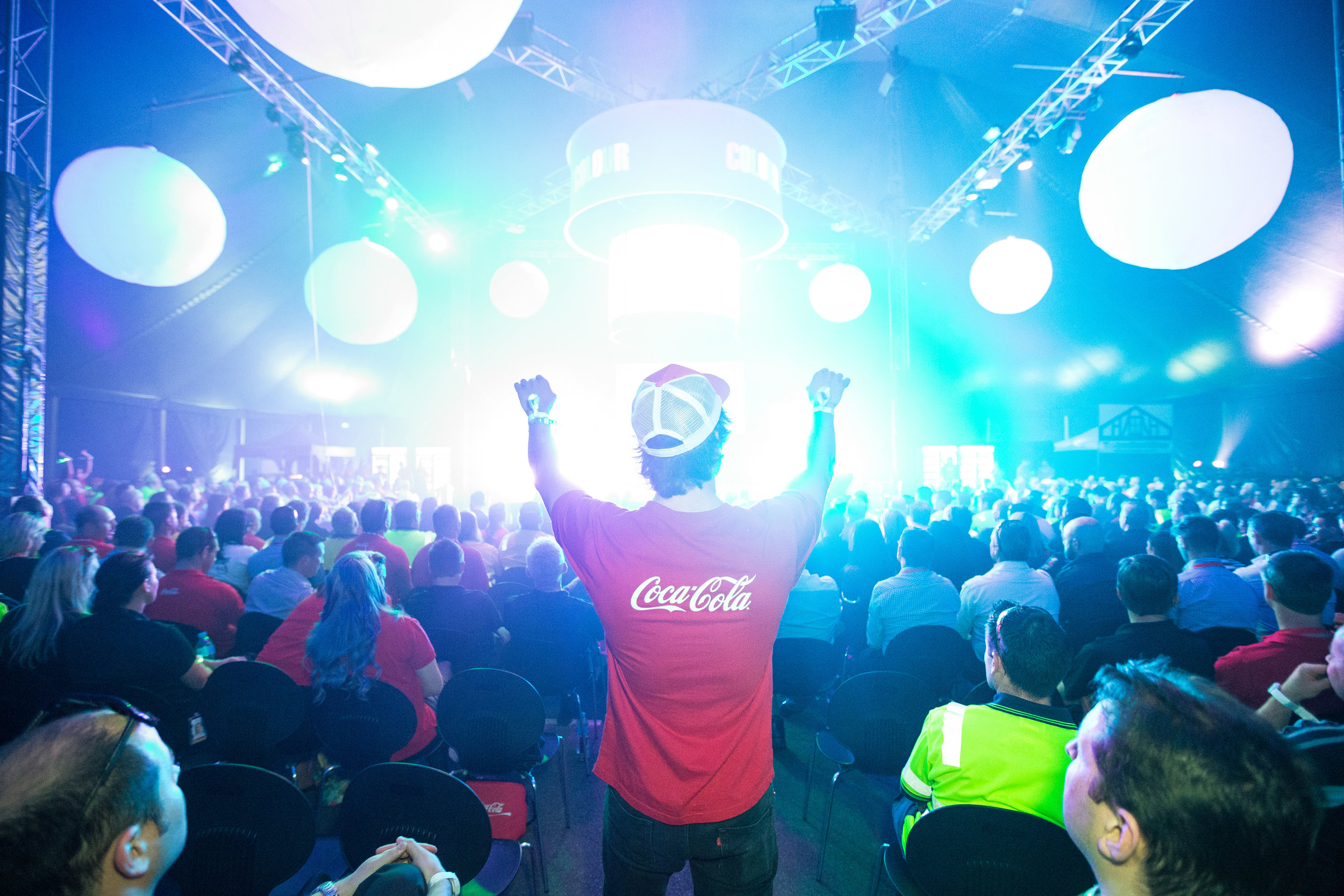 Coca-Cola Amatil  Colour My Summer Roadshow   Click here for gallery