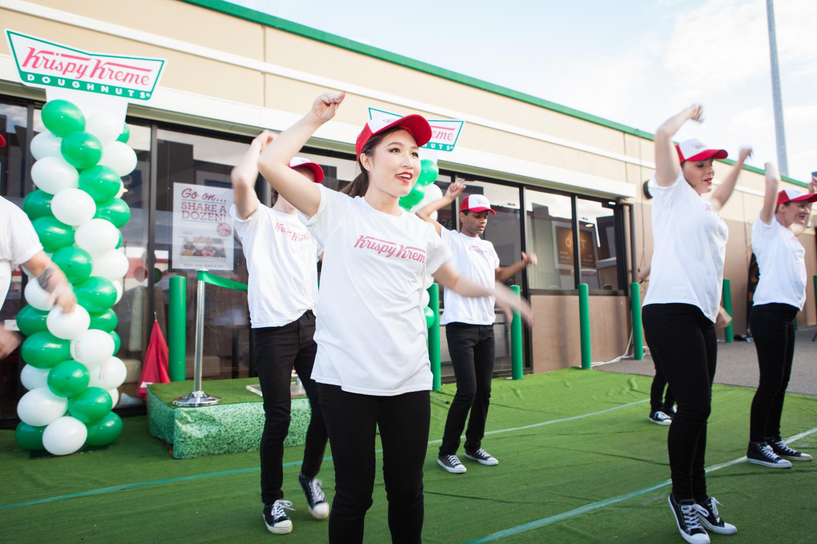 Krispy Kreme  Krispy Kreme - Store Openings   Click here for gallery