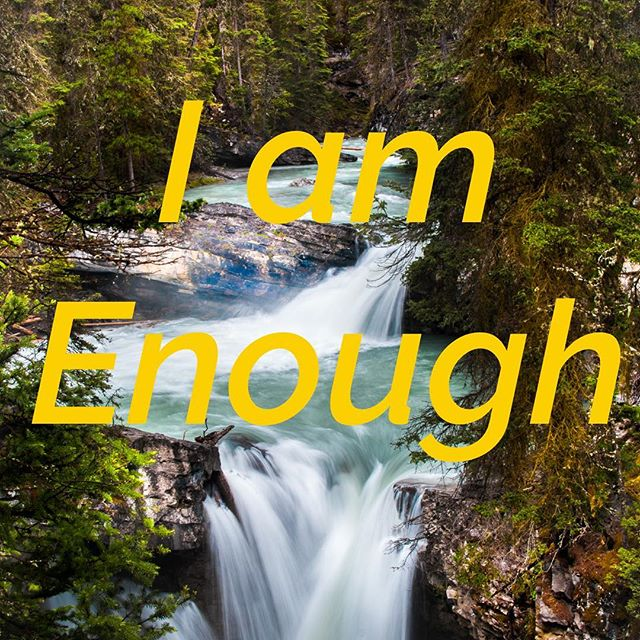 "Tag 3 friends who need this today. 🌸 This theme has been popping up in questions to me & in podcasts & other people I follow. Please repeat after me: ""I am Enough"" - you are good enough today, right now. You are smart enough, pretty enough, funny enough, aware enough to change your life. For my clients the goal is usually to create a great relationship.  What if you reminded yourself of this every time you went on a date, opened your dating apps, or went to a party?  Give it a try and see how your confidence attracts the guy you want! 💗💞💗#iAmEnough"