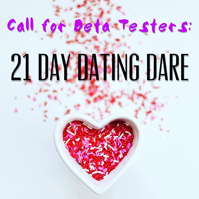 Hi All! This is for the #single ladies who want an awesome relationship but are frustrated with #dating! I need your help & hopefully this is a win win.🤝 Link in profile🙌🏼 Do you want free coaching? I am a certified life coach (@ipeccoaching) developing an online course: 💗21 Day Dating Dare💗  This course will help you to transform your limiting beliefs, create a clearly defined picture of your ideal relationship, and get more dates so you can actually meet the guy!🤓 Have fun dating with a personalized dating strategy that helps you attract your ideal match and filter potential dates.🗓 This 3 week beta test starts November 12. Get ready for all those holiday parties! 😘  Beta testing means you take the course for free in exchange for providing feedback on each module. 😍  Feel free to pass this on to anyone you think might be a good fit.  https://www.yesandlove.com/21-day-beta