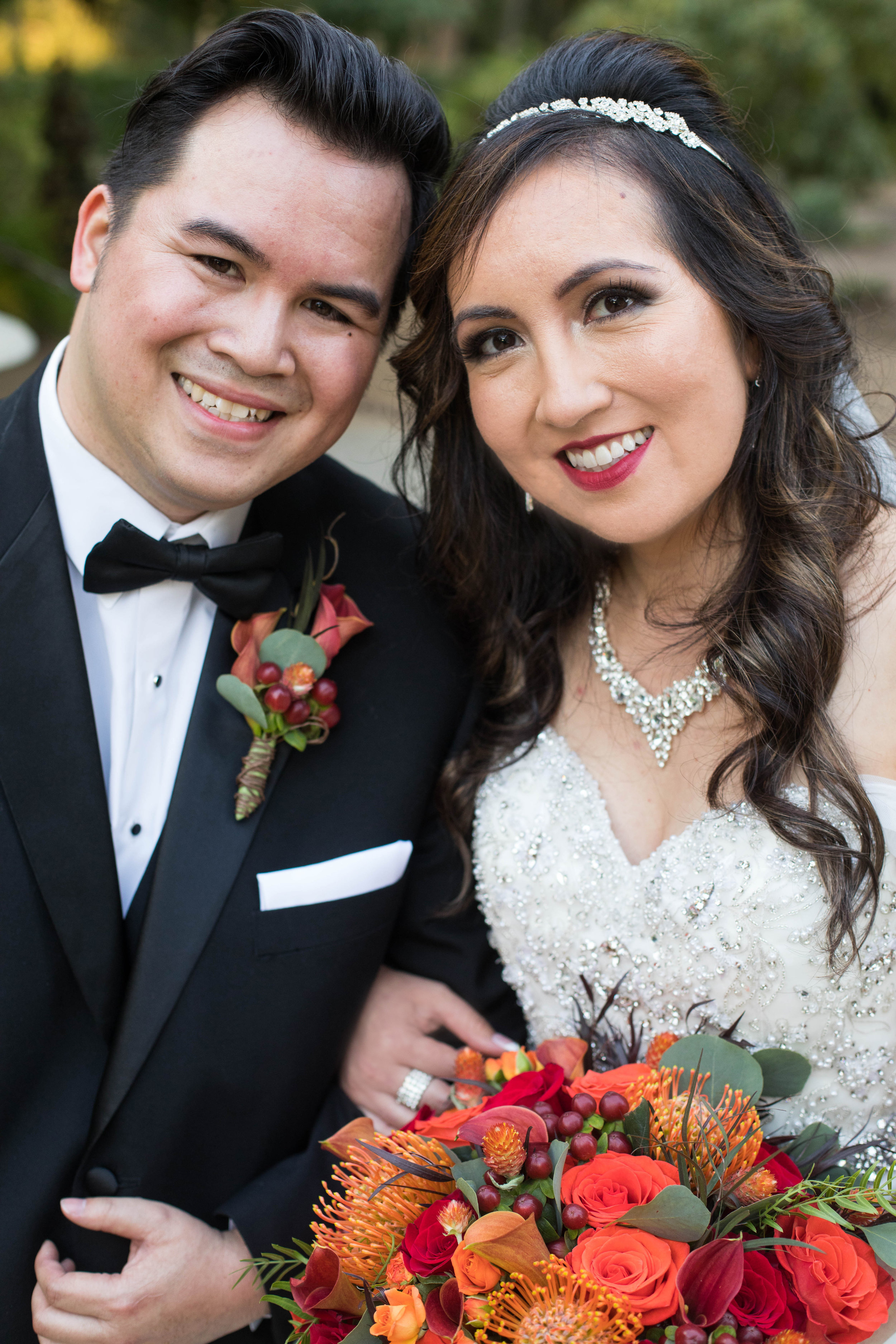 KEVIN + MONICA 2017    They were gorgeous. Thank you so much!!! My family LOVED the flowers and color scheme!