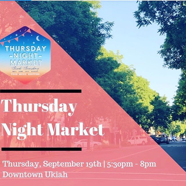 Come down and see us this Thursday night for our last Thursday night downtown event!!! We will be serving up a very special option, Korean beef tacos with spicy kimchi, a Sriracha aioli and home salsa with chips. @ukiahnaturalfoods #downtownukiah#chefcru#croux&co