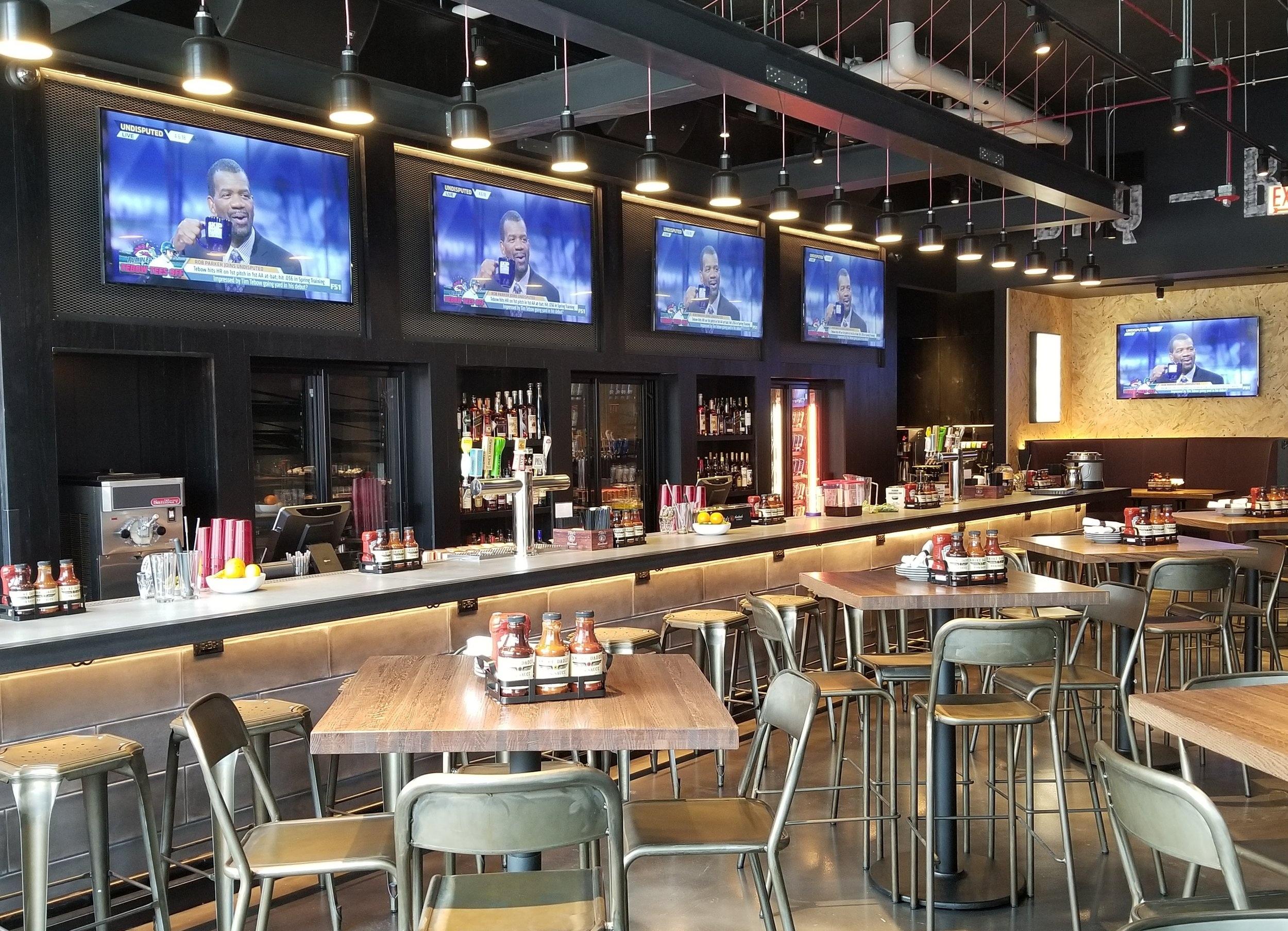 bar & accent lighting -