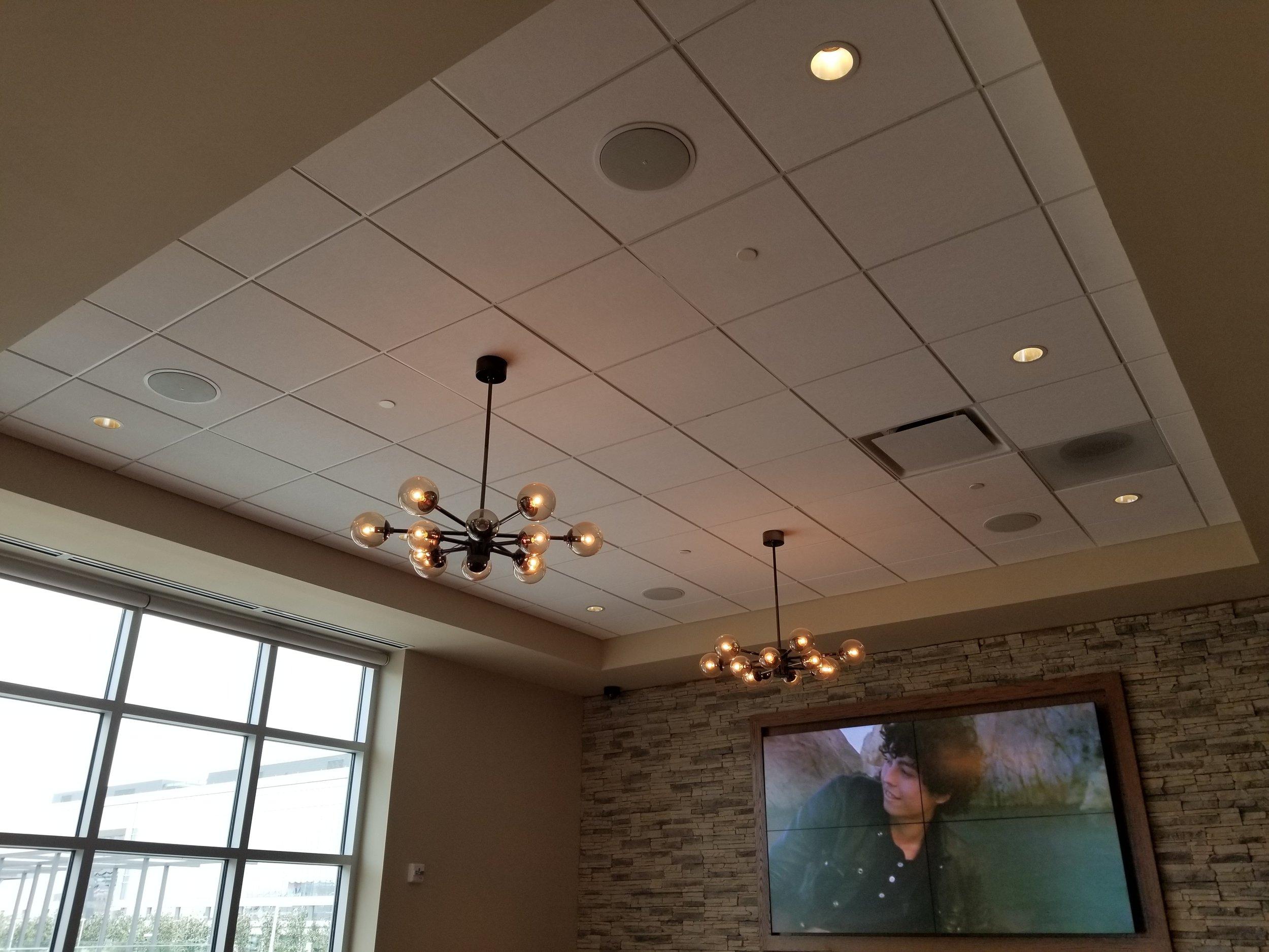 RECESSED ceiling speakers -