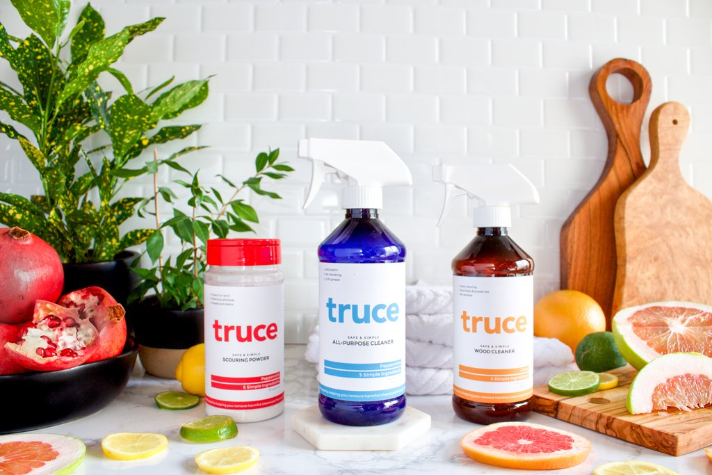 We clean responsibly. - We proudly use Truce Green Cleaning products.Available upon request.