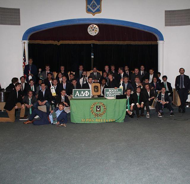 Welcome to the brotherhood, Zeta Class! Congrats boys and Xaipe!