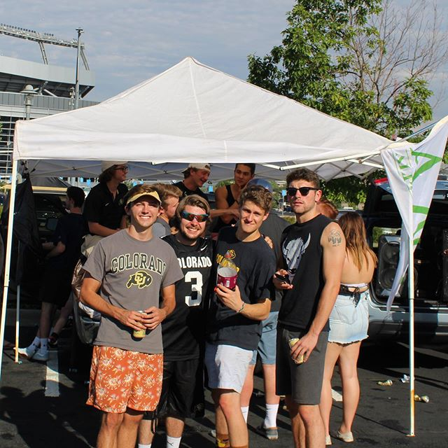 'Sko Buffs 🏈 The boys had an awesome time at their annual tailgate before the main event this Saturday. Thanks to everyone who came out for the last Denver Showdown!
