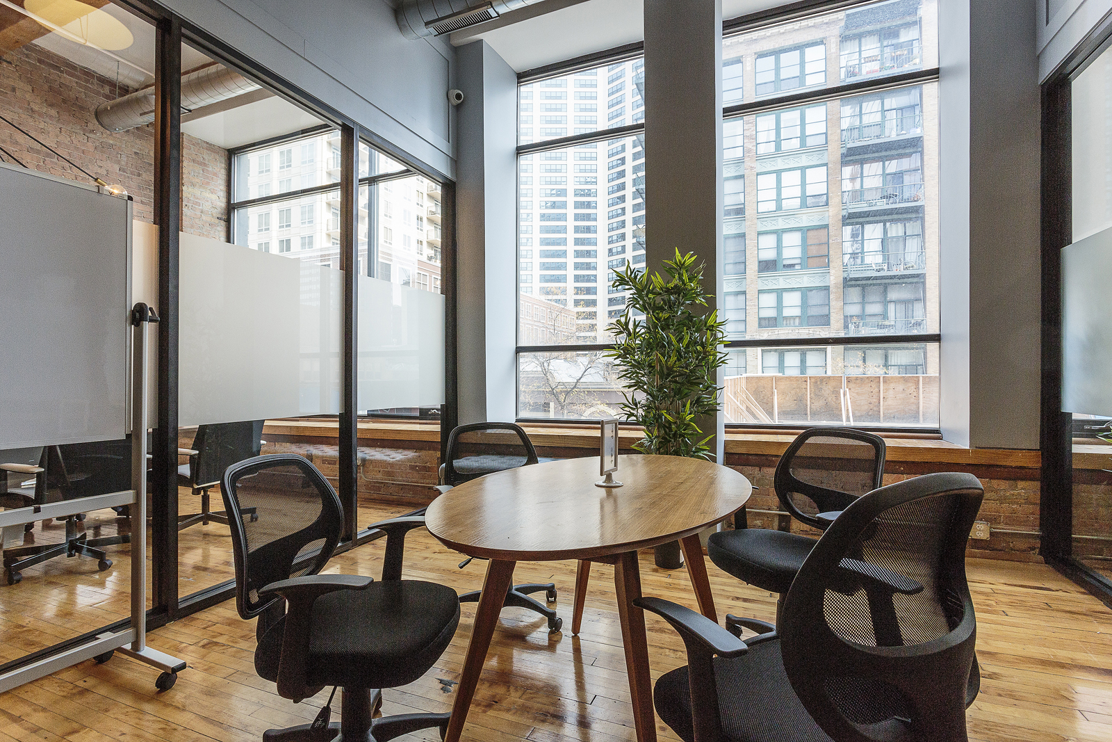 Sit at any community desk.   INCLUDES:  - 24/7 Access.           - 8 Conference Room credits