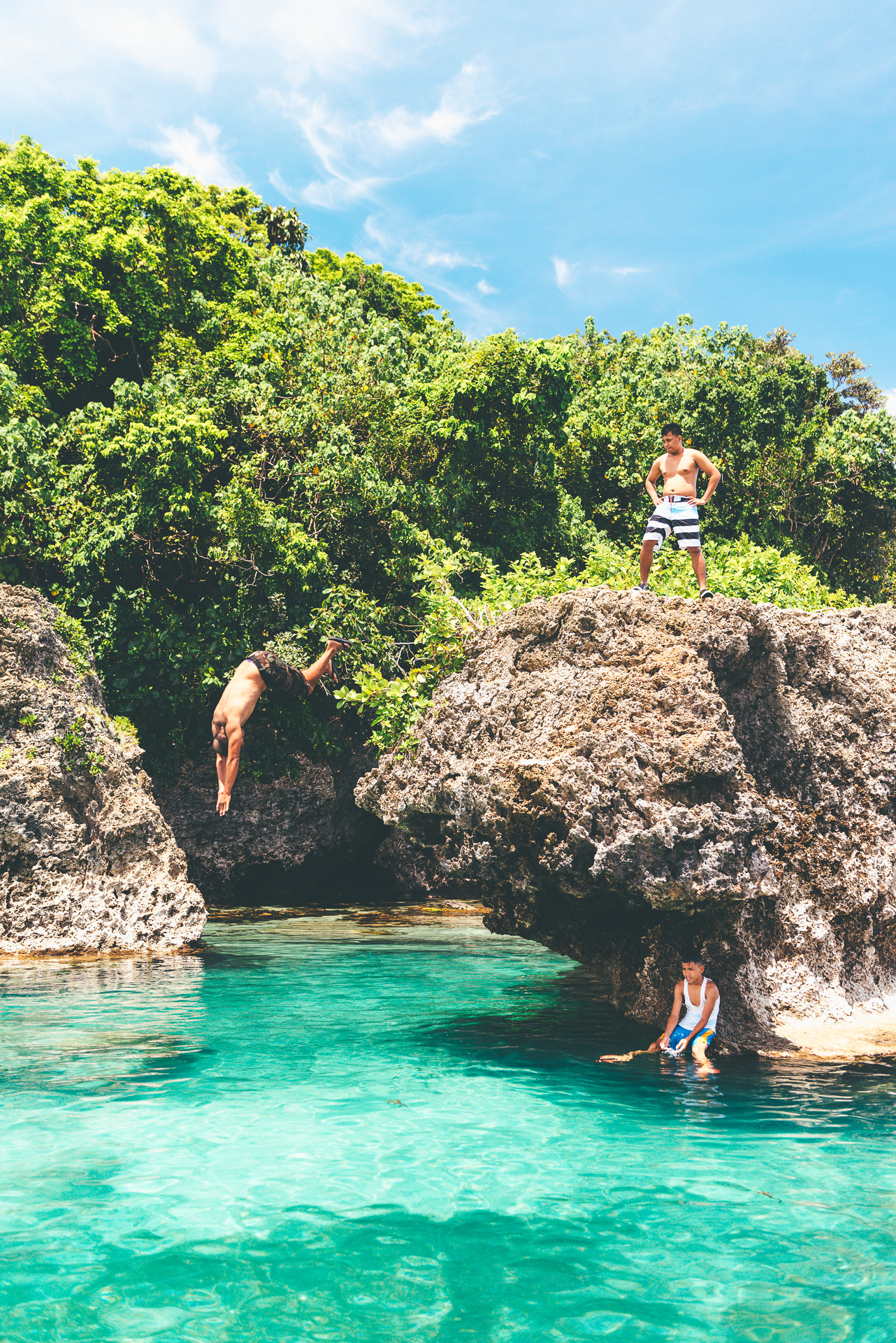 Magpupungko Reef Pools Siargao