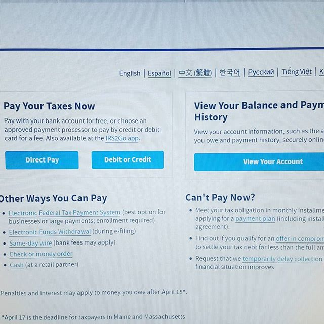 Do you know if you now can see your balance with IRS?. Do you know if you now can pay IRS online?  Check our bio link, the info is there...