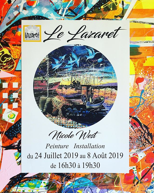 EXPOSITION LAZARET OLLANDINI #museecorse #museeajaccio #artajaccio #lazaretollandini #artsurtoile #patterdesign #texturepainting #texturepainting #environnement #environmentart #artinnature #abstrart #abtracpainting #contemporary #contemporary_art #artcontemporainparis #zeitgenössichekunst #kunststiftungsachsenanhalt #artgalery #artfoundation #artfondation #kunststiftung #berlingallery #kunstgaleriemünchen #galeriemünchen #artcollection #nicolewestart #nicolewestkunst #nicolewestartiste #artincorsica #color