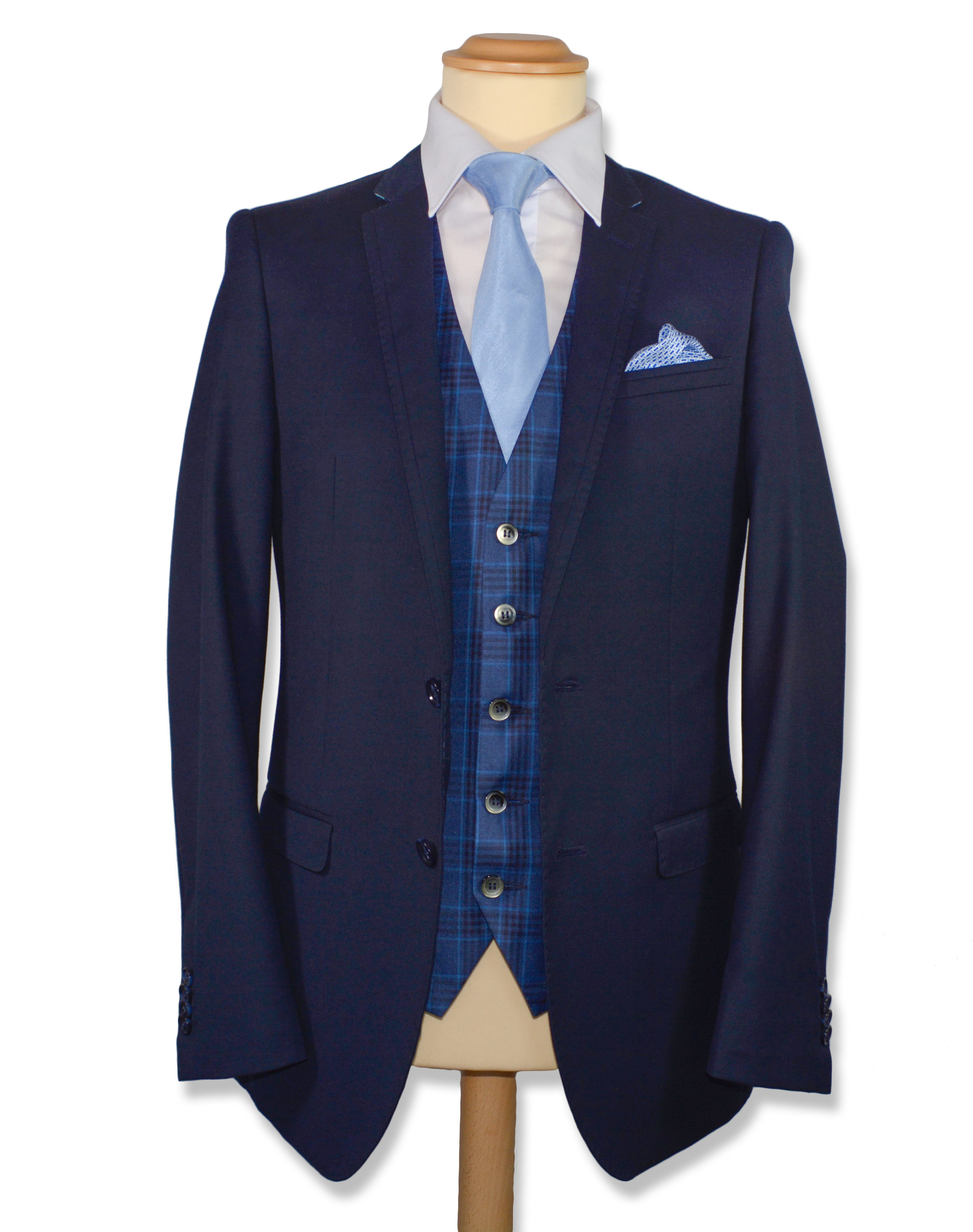 Slim Fit Navy Suit (Hire or Buy)