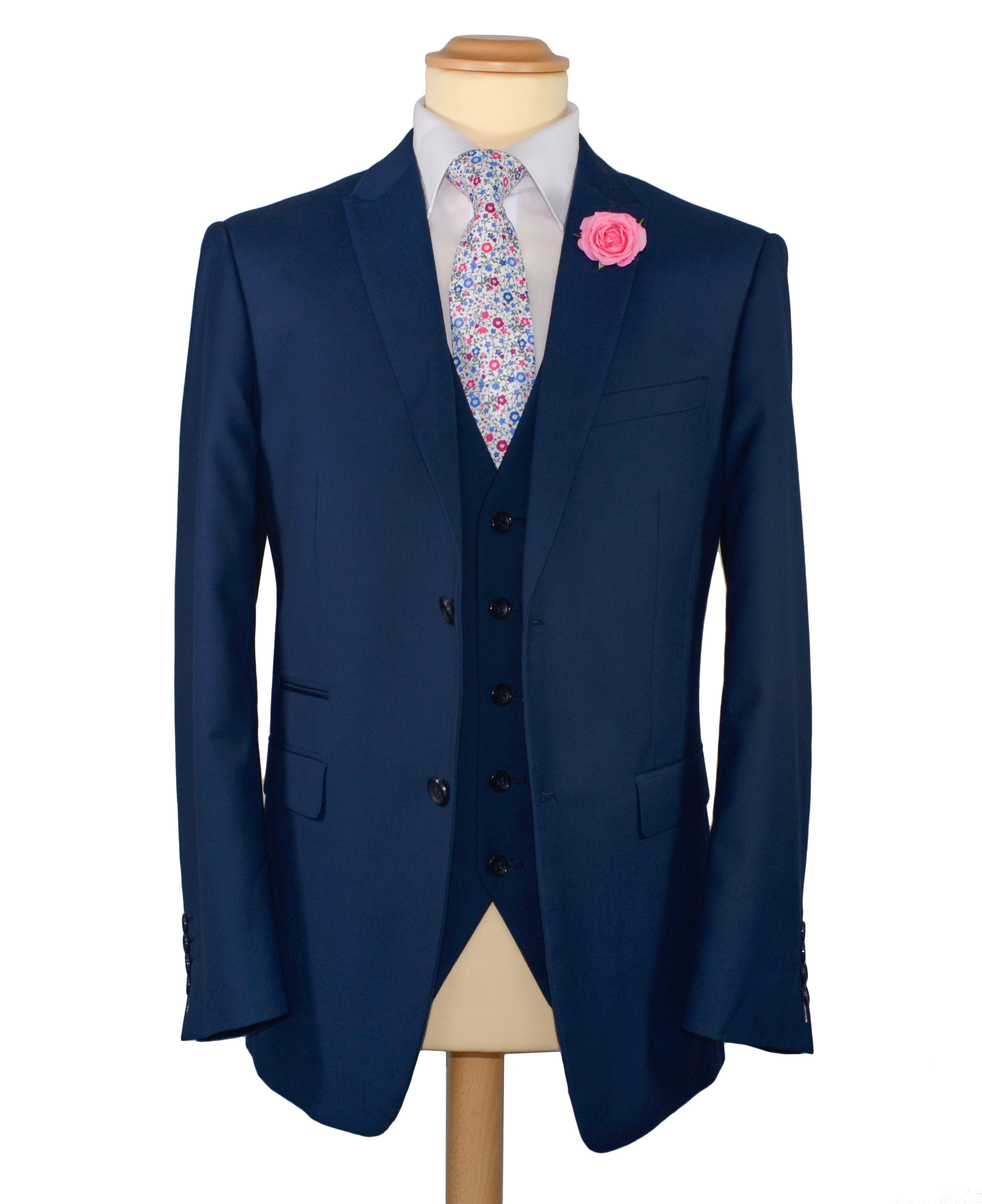 French Blue Suit (Hire or Buy)