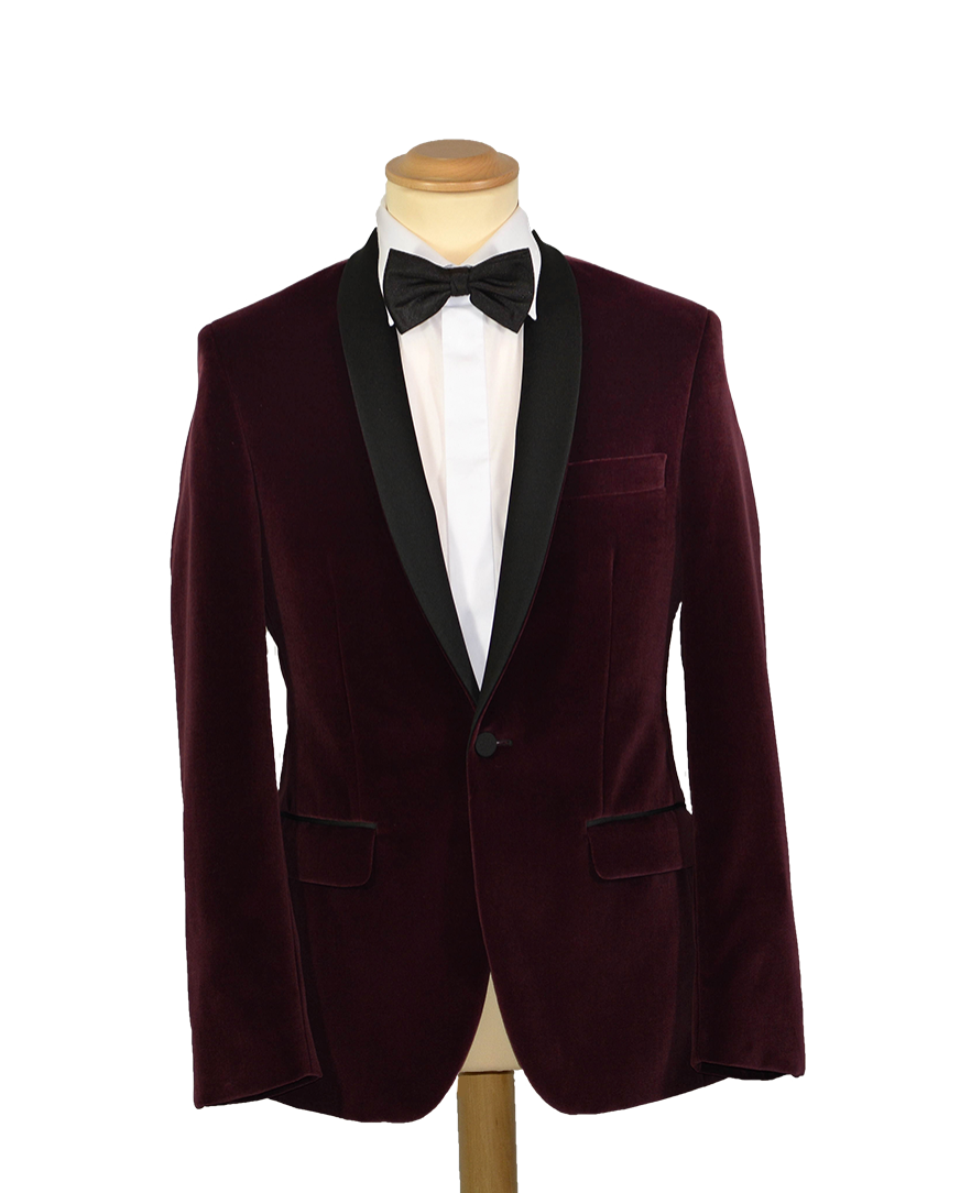 Burgundy Velvet Formal Suit.png
