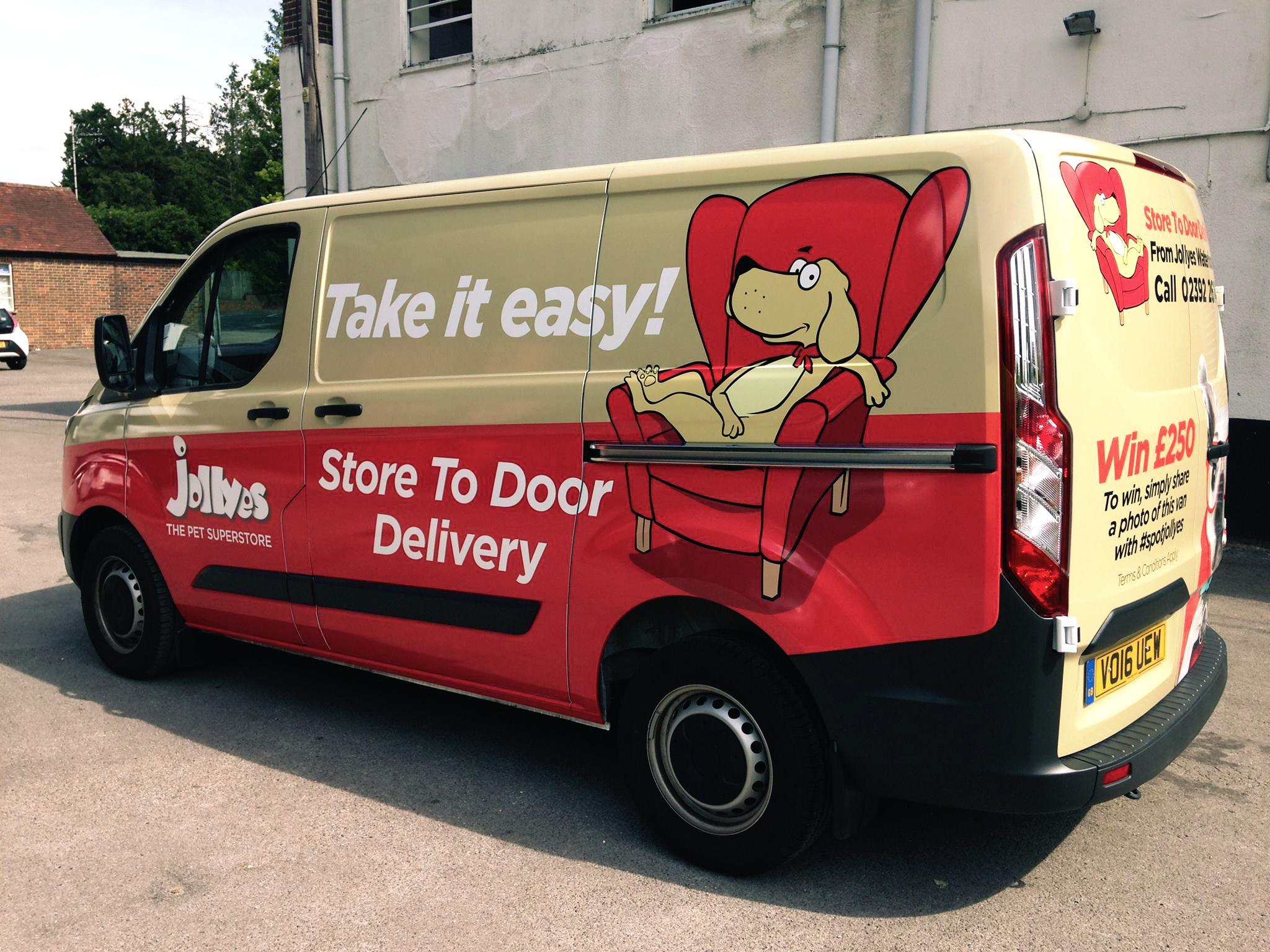 Jolley's Van Wrap