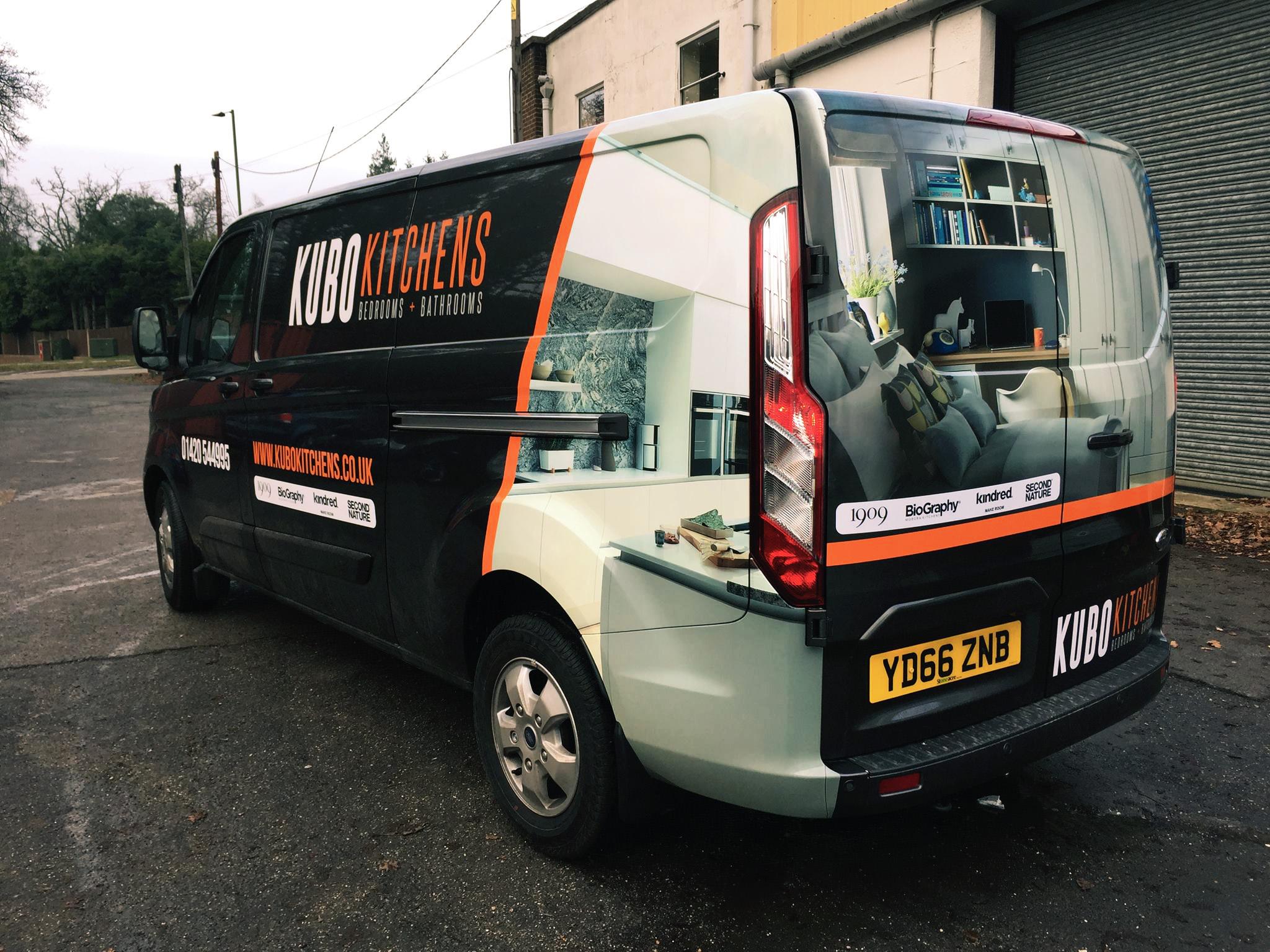 Kitchens Van Wrap