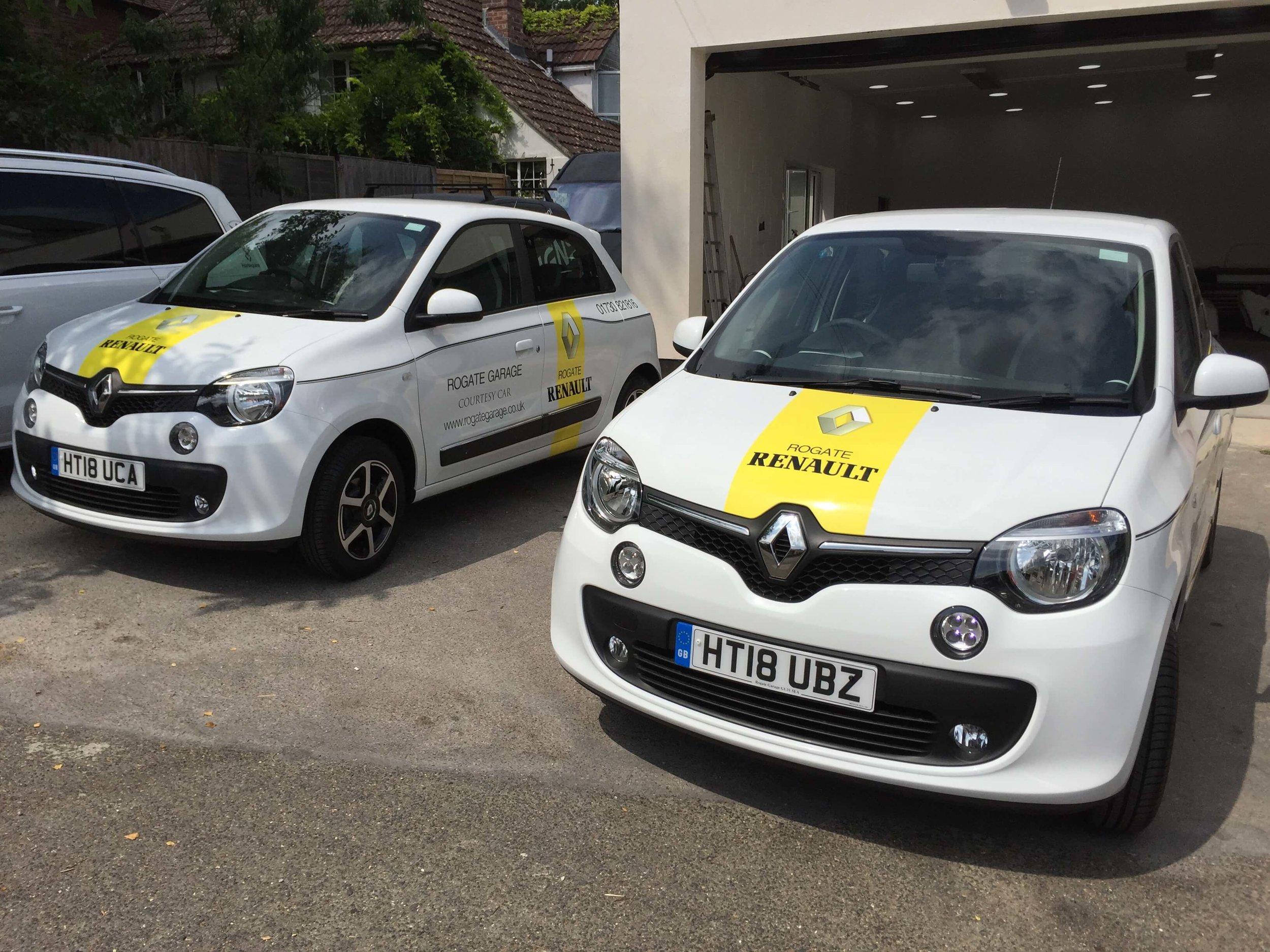 Renault Car Graphics