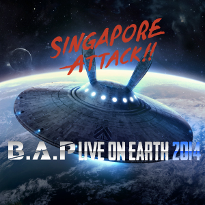 B.A.P Live On Earth Singapore Attack!! 2014
