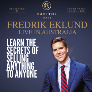Fredrik Eklund Live in Australia 2016