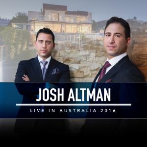 Josh Altman Live in Australia 2016