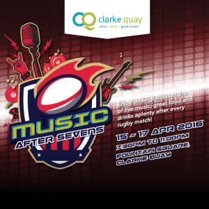 Music After Sevens @ Clarke Quay