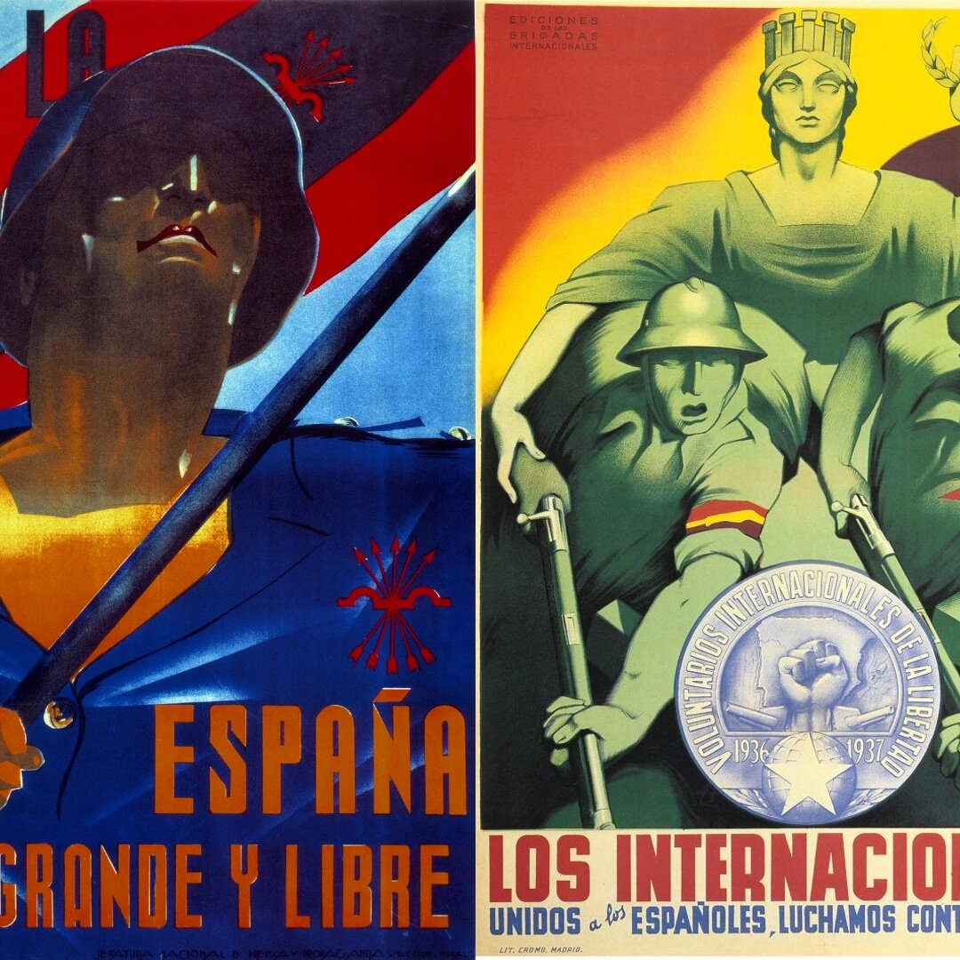 Taking Sides, Posters of the Spanish Civil War - A talk on posters from around the period of the conflict. Not just a war for political power, but of ideas. A war between competing visions of Spain, of Europe, of society. Artists and politicians have long used graphic art as a tool – and weapon. Welcome to a war of images…