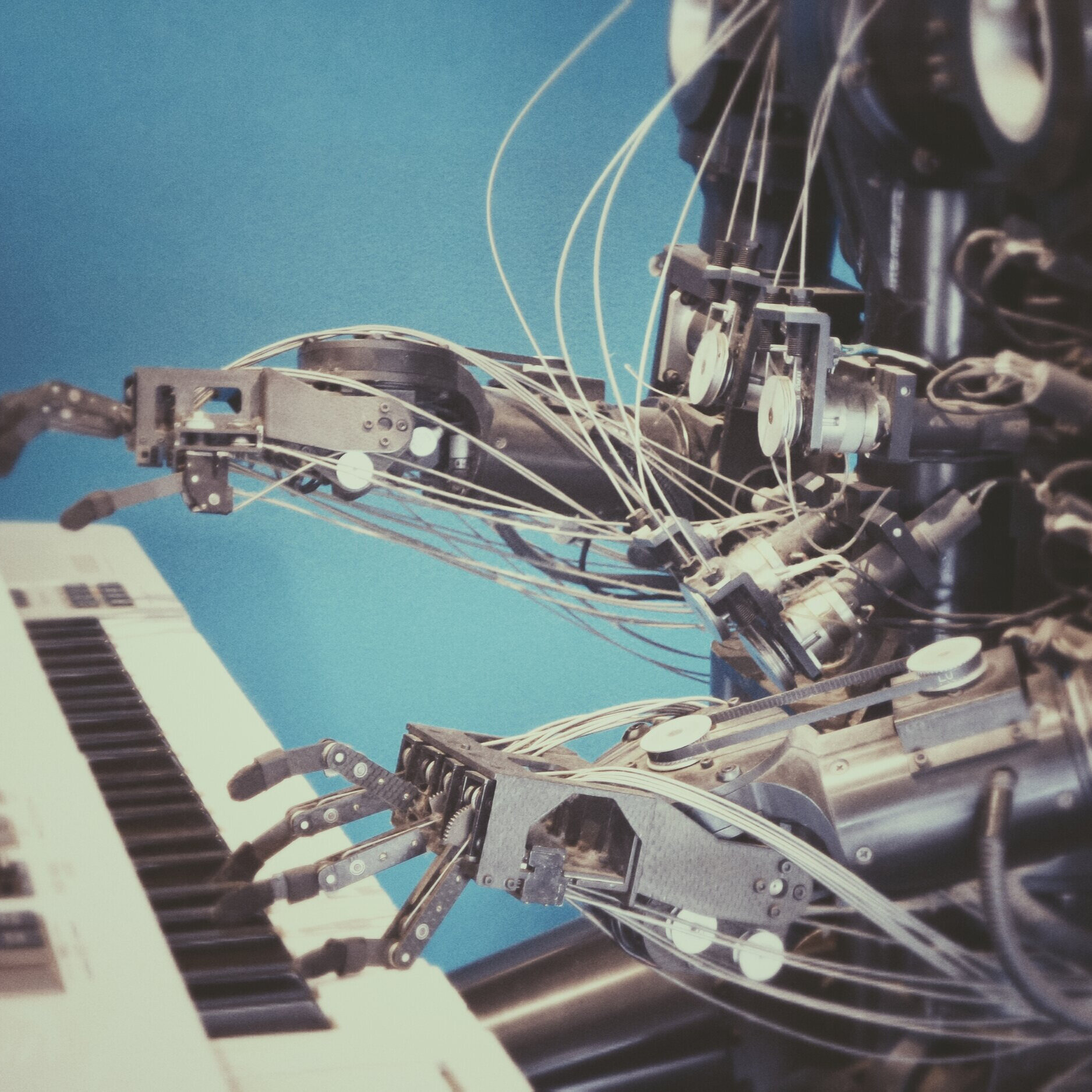 Artificial Intelligence - The theory and development of computer systems able to perform tasks normally requiring human intelligence, such as visual perception, speech recognition, decision-making and translation between languages.
