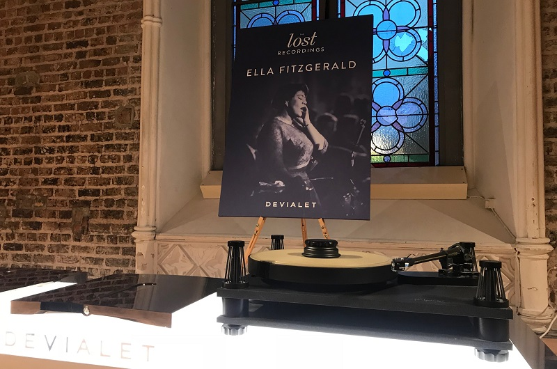 SME, Devialet, Sonus Faber and Ella Fitzgerald at the Lost Recordings Event in Dublin, December 2017