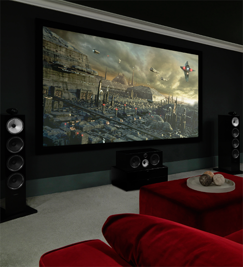 home cinema  bigger sound. bigger picture.