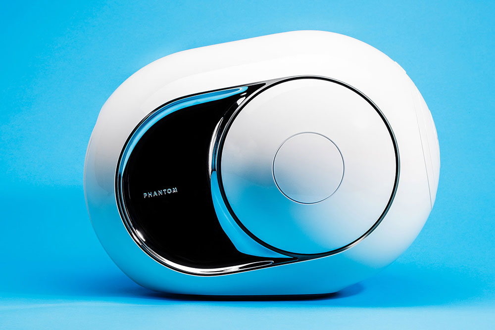 Gold Phantom: 4500 Watts High-End wireless speaker from Devialet