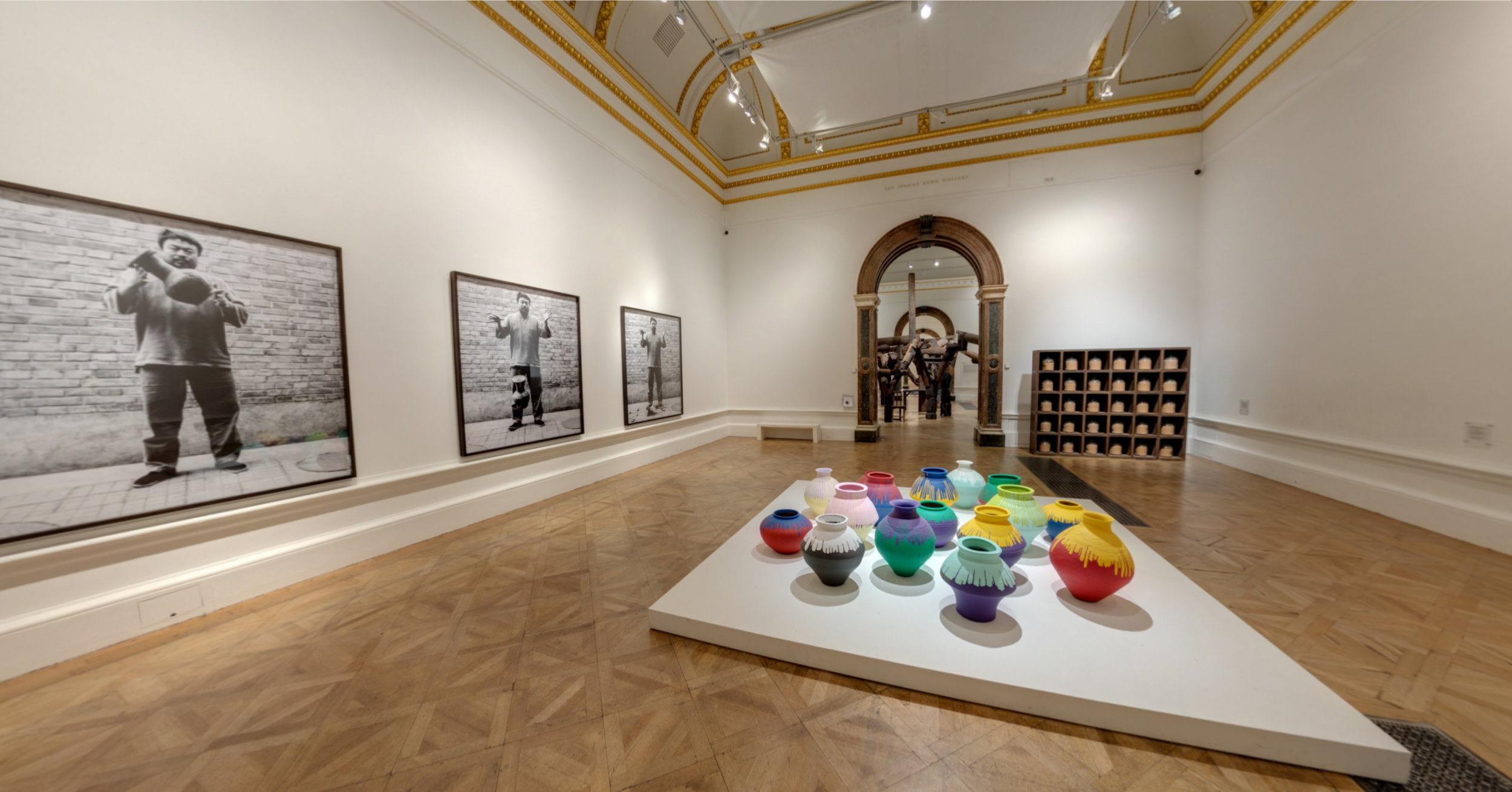 Ai Weiwei 360 Live Space, created for The Royal Academy of Arts