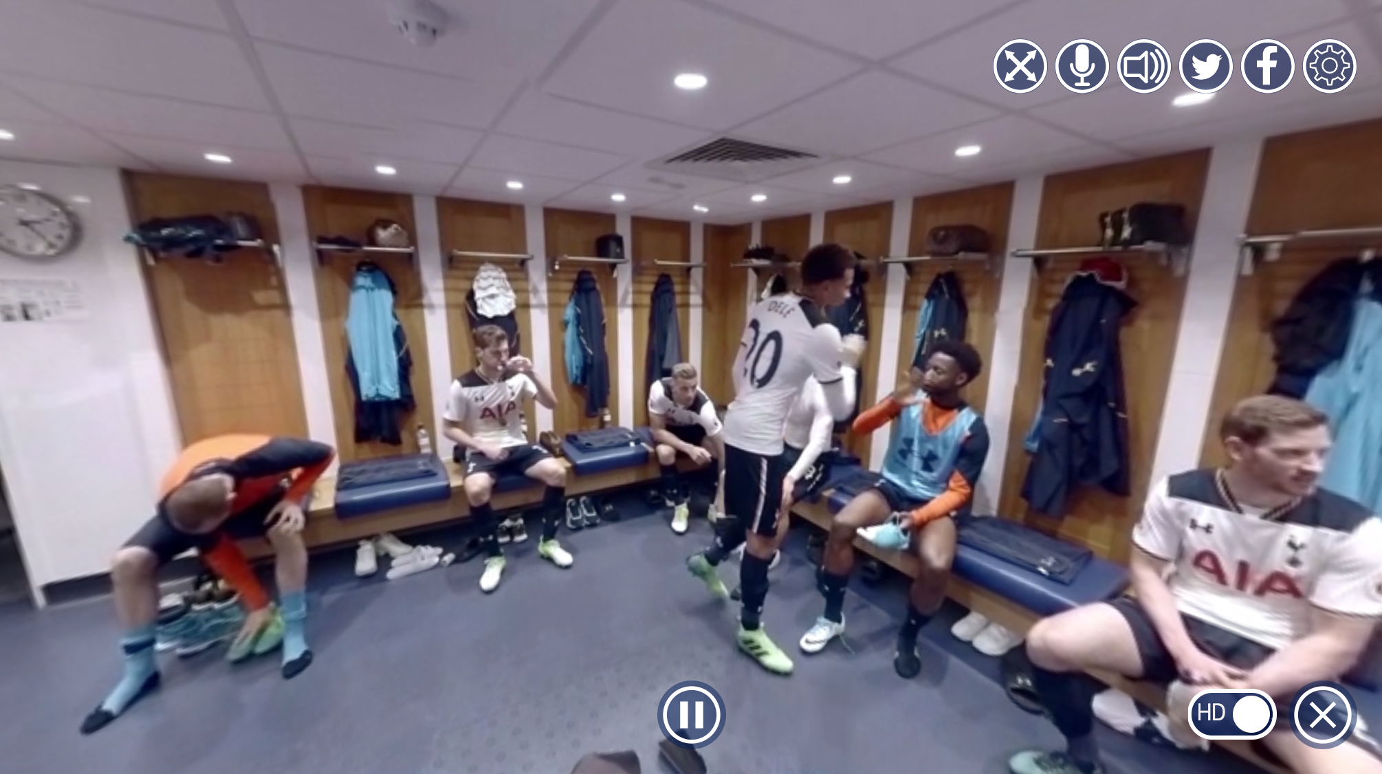 Tottenham Hotspur Live Space, The Lane 360