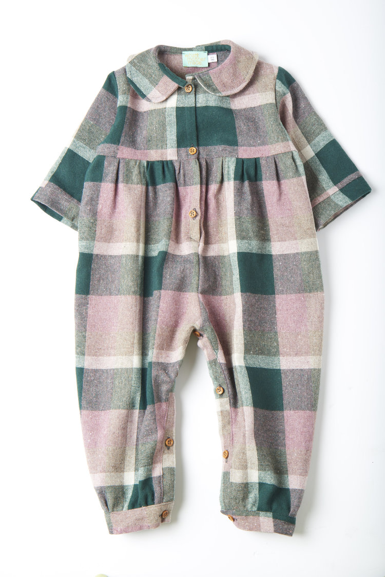 Woollen Romper - This is the cutest romper. It's not cheap but it is handmade and will be a definite one to lay away or pass on. Also, pink in a lumberjack check? Monty Python would approve.Woollen Pastel Check Pantaloon  £40  What Mother Made
