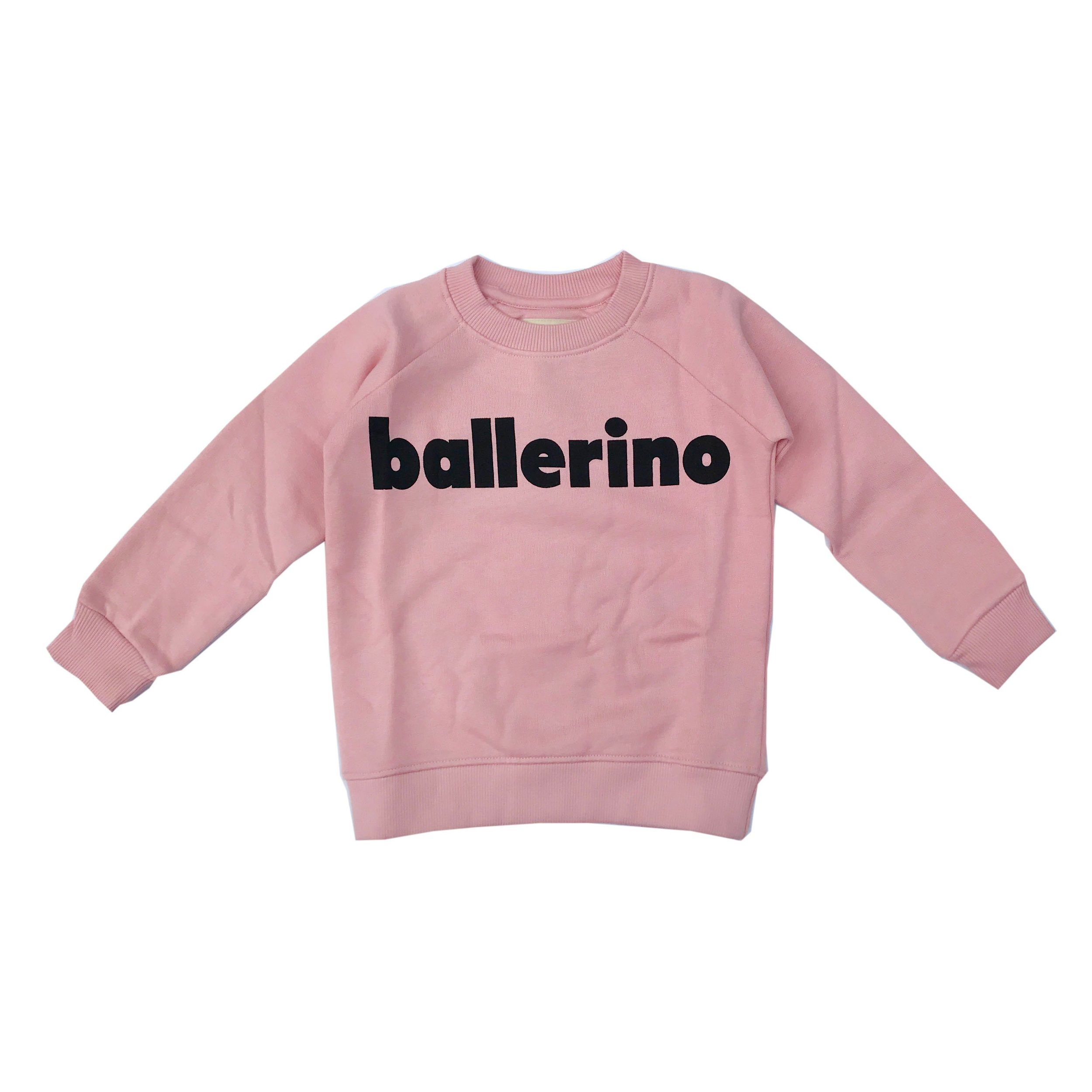 Ballerino Sweater - Ever wondered what a male ballet dancer was called? Well now, you know. Thanks Hugo Loves Tiki for this reminder that ballet is for anyone who wants to do it.Hugo Loves Tiki sweatshirt £37 Bon Tot
