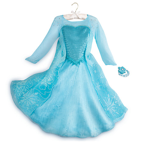 Elsa dress - Nearly all children we know have had a Frozen obsession at some point. Taking on the persona of a strong woman, who has been told to hide her feelings and learns that letting people in makes things feel better sounds ok to us. There are loads of Elsa dresses - this one comes with a bracelet that projects magical snowflakes. (Added bonus: the Church of England has recently endorsed boys in princess dresses.)Elsa costume £30 The Disney Store